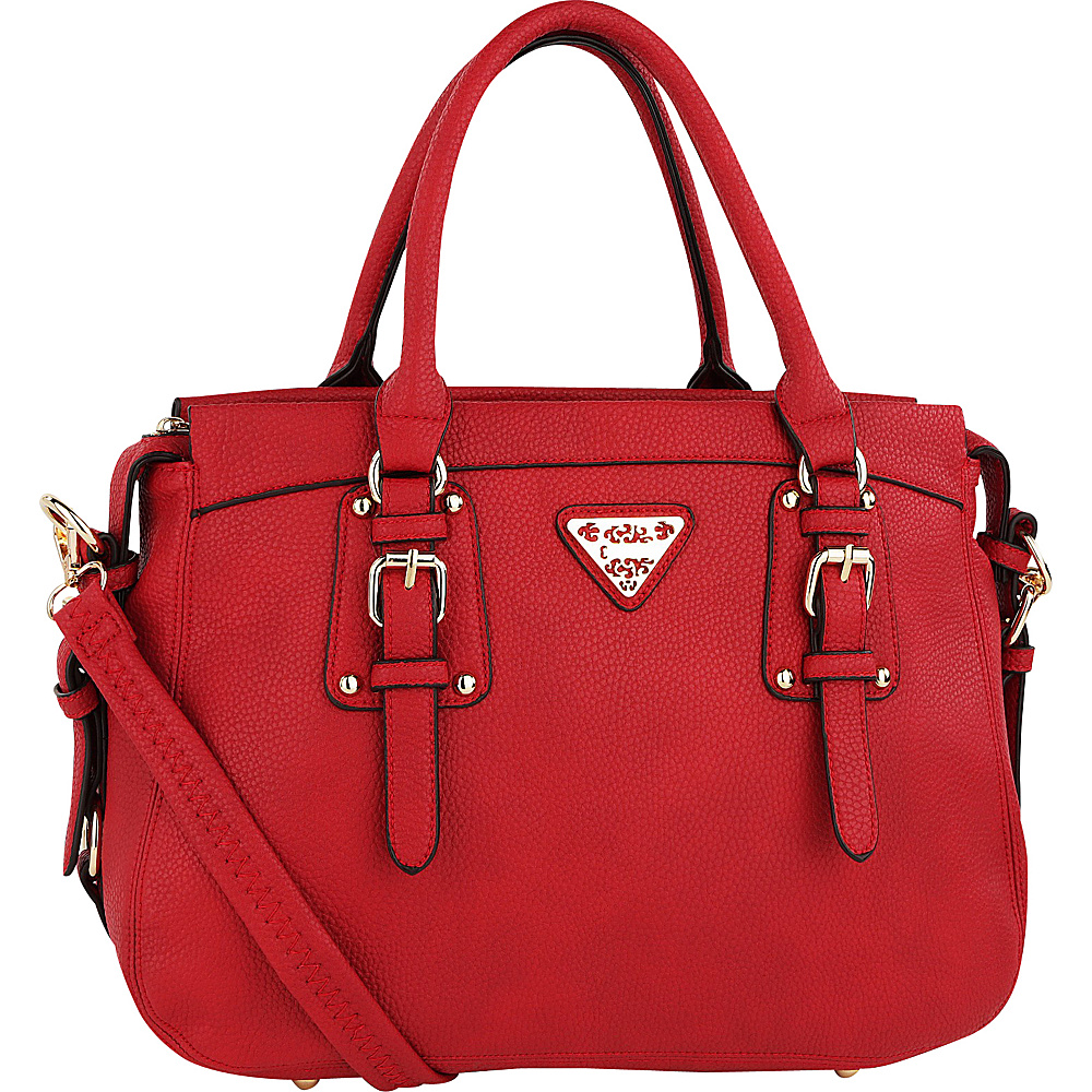 MKF Collection Blake Satchel Red - MKF Collection Manmade Handbags - Handbags, Manmade Handbags