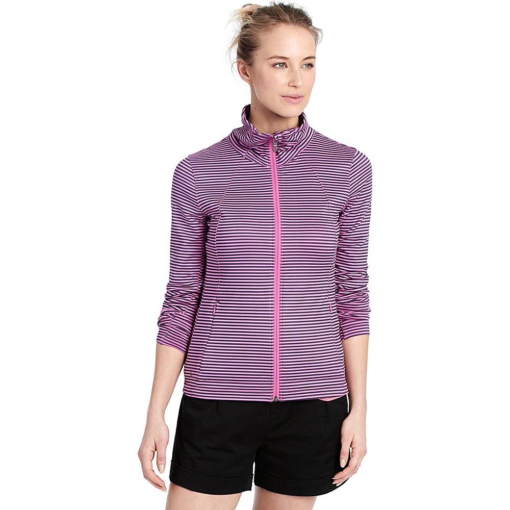 Lole Essential Cardigan XS - Spring Crocus Stripe - Lole Womens Apparel - Apparel & Footwear, Women's Apparel