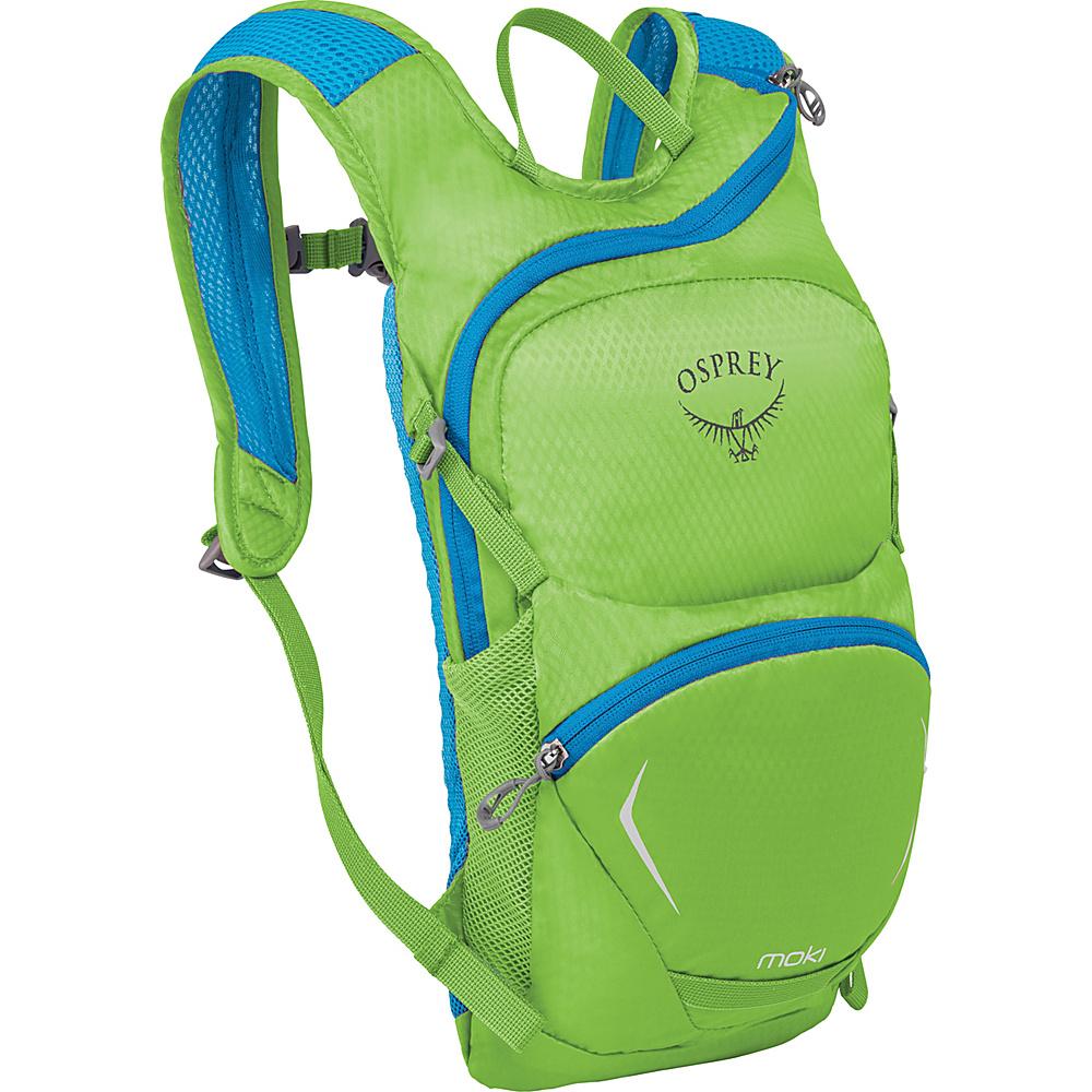Osprey Kids Moki 1.5 Pack Grasshopper Green - O/S - Osprey Hydration Packs and Bottles - Outdoor, Hydration Packs and Bottles