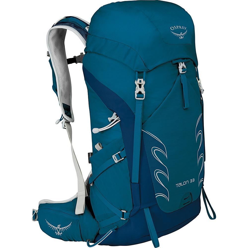 Osprey Talon 33 Hiking Pack Ultramarine Blue – S/M - Osprey Backpacking Packs - Outdoor, Backpacking Packs