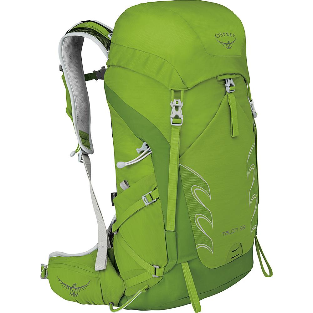 Osprey Talon 33 Hiking Pack Spring Green – M/L - Osprey Backpacking Packs - Outdoor, Backpacking Packs