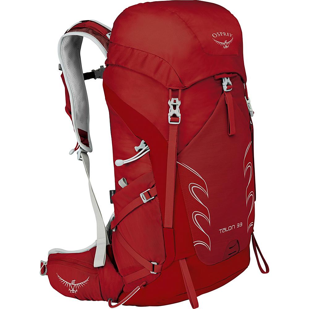 Osprey Talon 33 Hiking Pack Martian Red – M/L - Osprey Backpacking Packs - Outdoor, Backpacking Packs