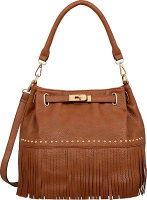 Mellow World Lorraine Shoulder Bag Camel - Mellow World Manmade Handbags