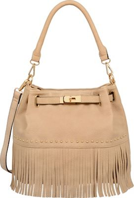 Mellow World Lorraine Shoulder Bag Khaki - Mellow World Manmade Handbags