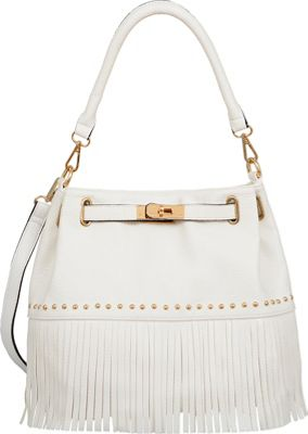 Mellow World Lorraine Shoulder Bag White - Mellow World Manmade Handbags