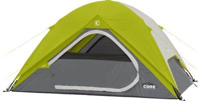 Core Equipment 4P Instant Dome Tent Green - Core Equipment Outdoor Accessories
