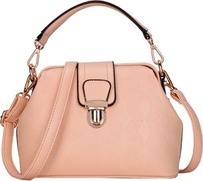 SW Global Auburn Satchel Apricot - SW Global Manmade Handbags