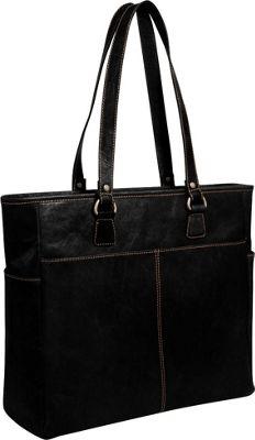 Jack Georges Voyager Large Tote Black - Jack Georges Women's Business Bags