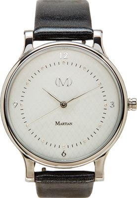 Martian Watches Martian CL 03 Smartwatch Light Grey Dial / Stainless Steel Case / Charcoal - Martian Watches Wearable Technology