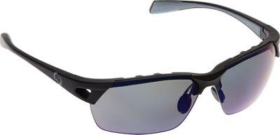 Native Eyewear Eastrim Sunglasses Matte Black with Polarized Blue Reflex - Native Eyewear Eyewear