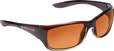 Native Eyewear Kannah Sunglasses Stout Fade with Polarized Brown - Native Eyewear Eyewear