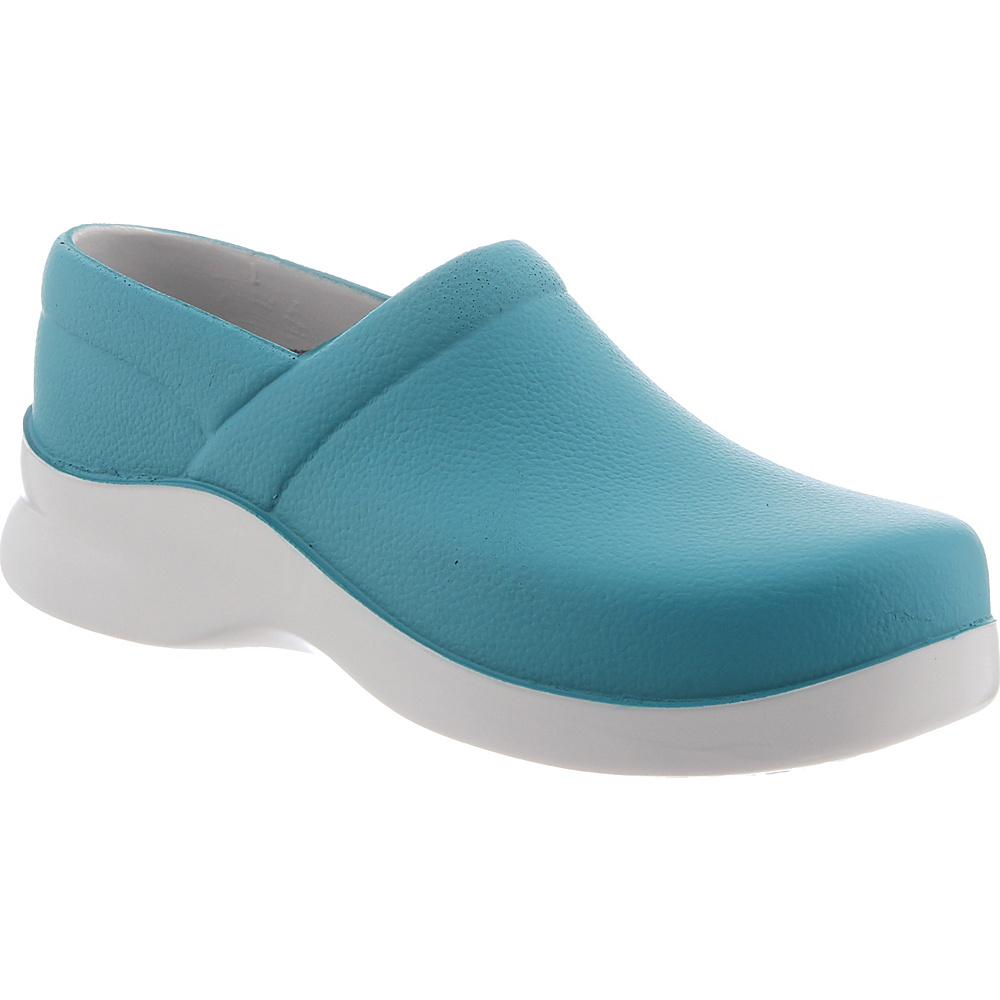 KLOGS Footwear Womens Boca 9 - W (Wide) - Enamel Blue - KLOGS Footwear Womens Footwear - Apparel & Footwear, Women's Footwear