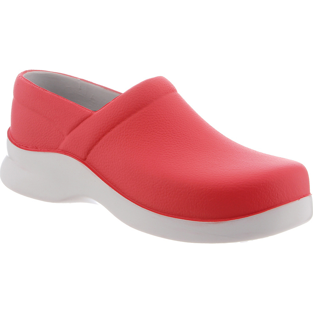 KLOGS Footwear Womens Boca 6 - W (Wide) - Papaya - KLOGS Footwear Womens Footwear - Apparel & Footwear, Women's Footwear