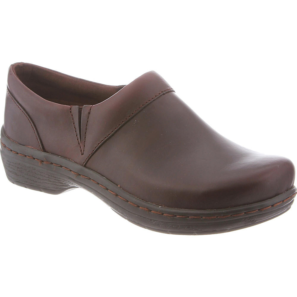 KLOGS Footwear Womens Mission 10.5 - W (Wide) - Mahogany Smooth - KLOGS Footwear Womens Footwear - Apparel & Footwear, Women's Footwear