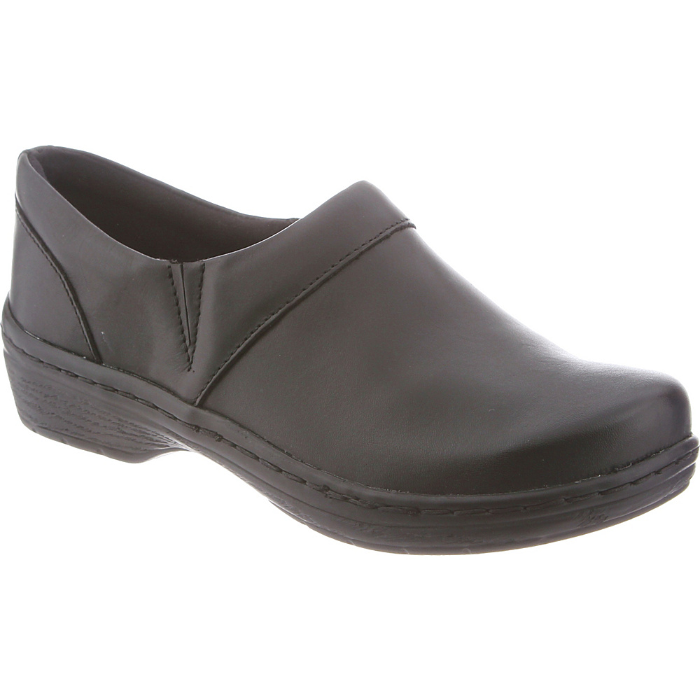 KLOGS Footwear Womens Mission 14 - W (Wide) - Black Smooth Wnstn - KLOGS Footwear Womens Footwear - Apparel & Footwear, Women's Footwear