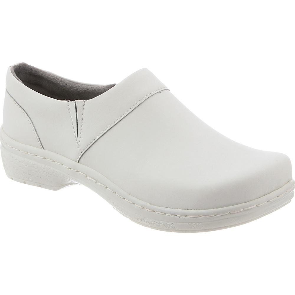 KLOGS Footwear Womens Mission 7 - M (Regular/Medium) - White Smooth Al - KLOGS Footwear Womens Footwear - Apparel & Footwear, Women's Footwear