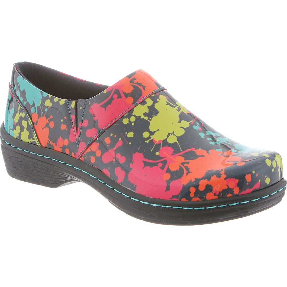 KLOGS Footwear Womens Mission 9.5 - M (Regular/Medium) - Splatter Patent - KLOGS Footwear Womens Footwear - Apparel & Footwear, Women's Footwear