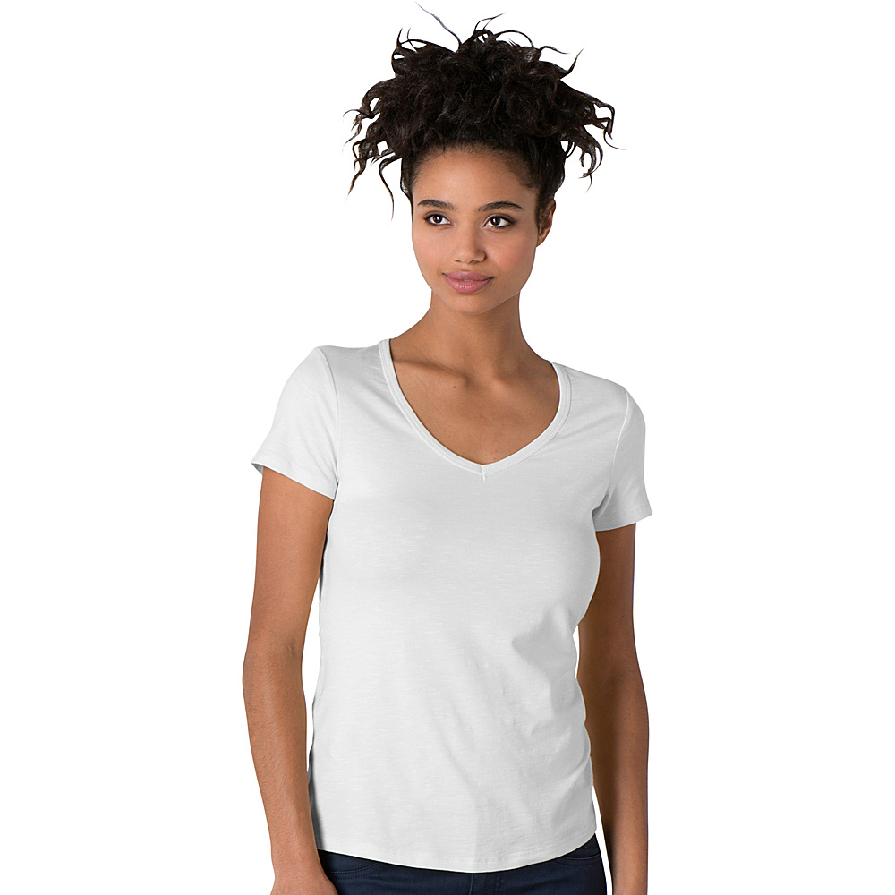 Toad & Co Marley Short Sleeve Tee XL - White - Toad & Co Womens Apparel - Apparel & Footwear, Women's Apparel