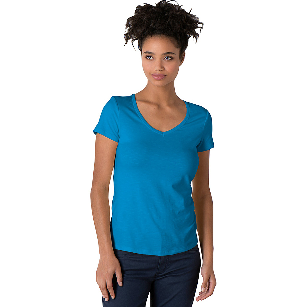 Toad & Co Marley Short Sleeve Tee S - Seaport - Toad & Co Womens Apparel - Apparel & Footwear, Women's Apparel
