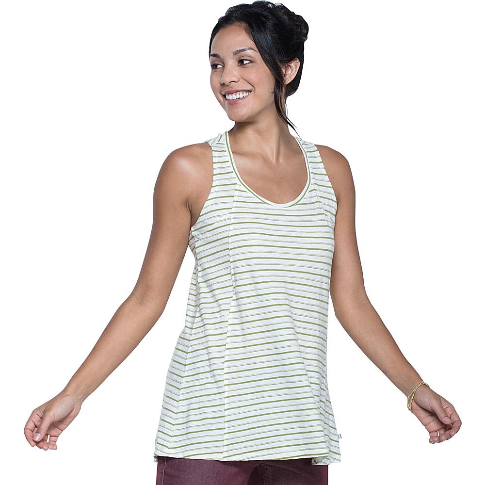 Toad & Co Paintbrush Tank M - Iguana Varied Stripe - Toad & Co Womens Apparel - Apparel & Footwear, Women's Apparel