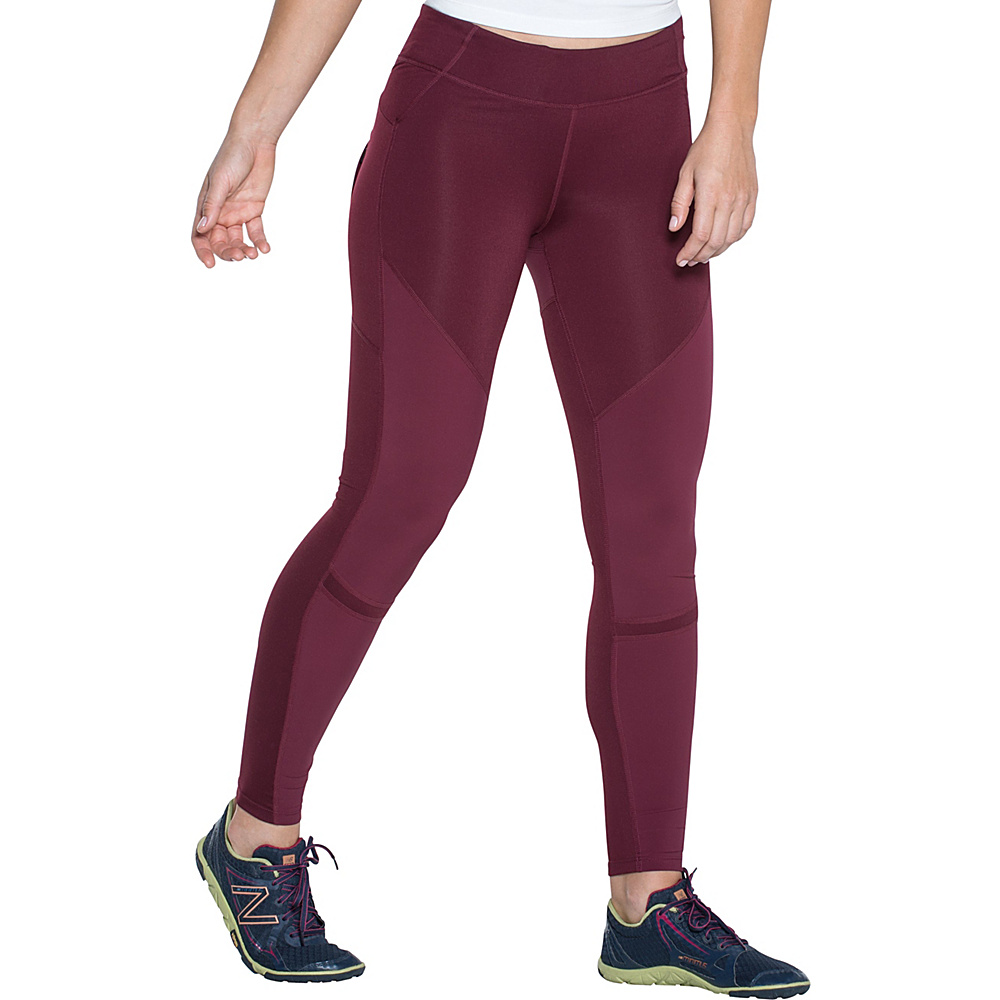 Toad & Co Versatrail Tight S - Sangria - Toad & Co Womens Apparel - Apparel & Footwear, Women's Apparel