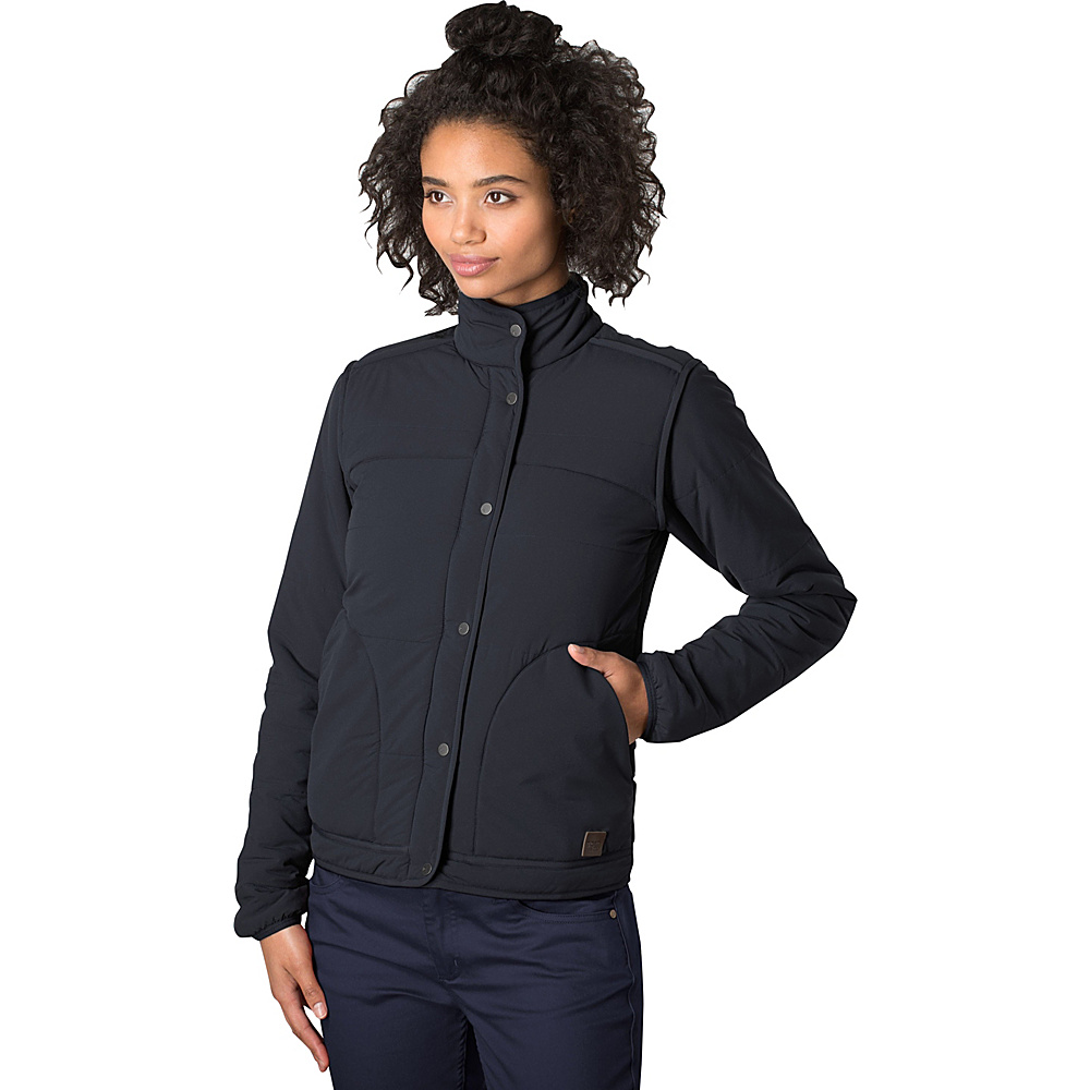Toad & Co Aerium Bomber Jacket L - Black - Toad & Co Womens Apparel - Apparel & Footwear, Women's Apparel
