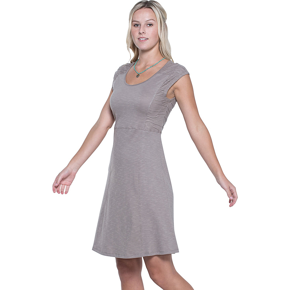 Toad & Co Sama Sama Dress M - Cocoa - Toad & Co Womens Apparel - Apparel & Footwear, Women's Apparel