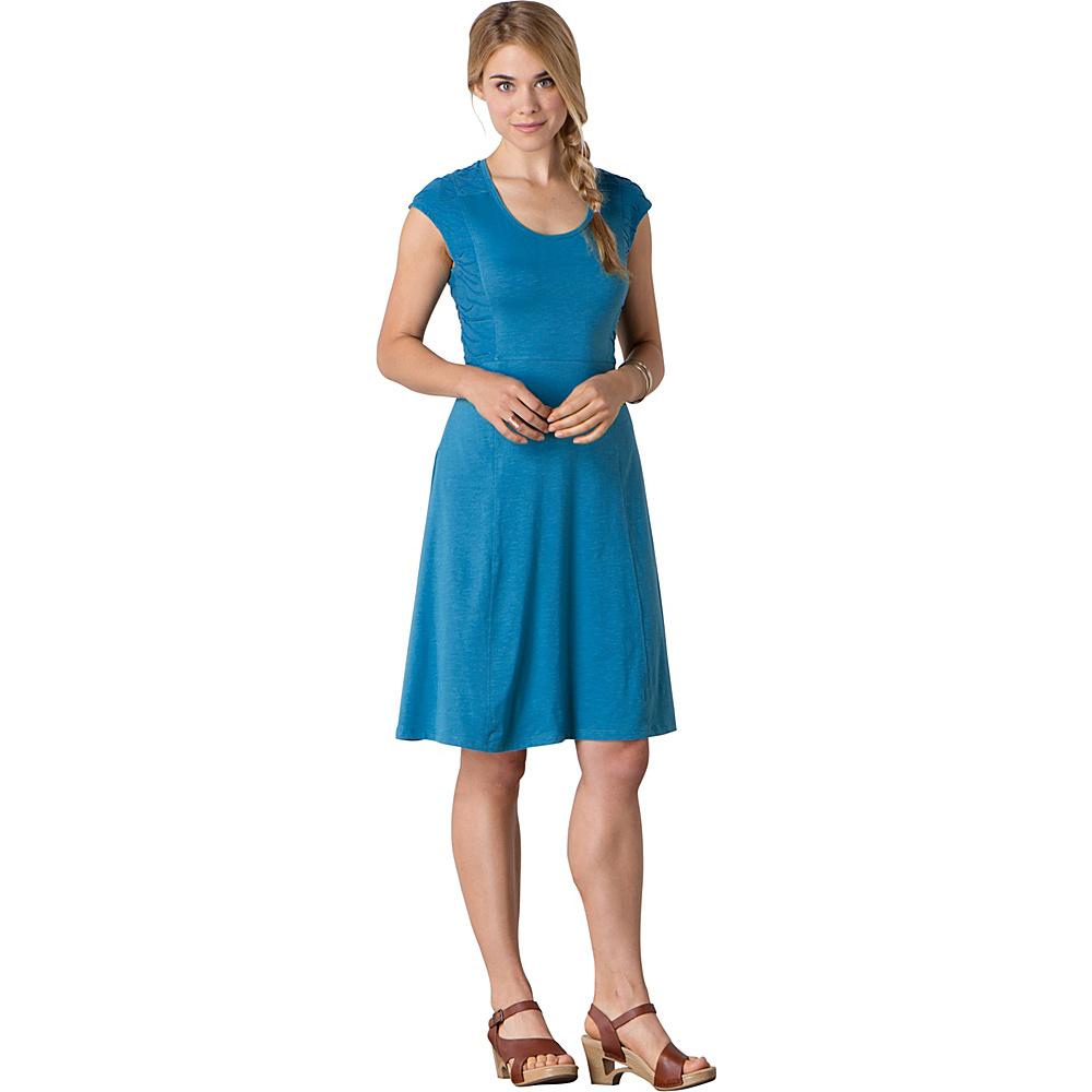 Toad & Co Sama Sama Dress L - Seaport - Toad & Co Womens Apparel - Apparel & Footwear, Women's Apparel