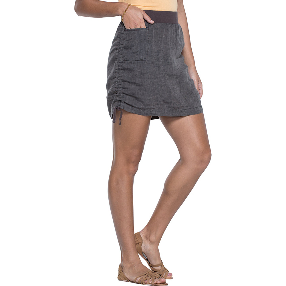 Toad & Co Lina Adjustable Skirt S - Falcon Brown - Toad & Co Womens Apparel - Apparel & Footwear, Women's Apparel