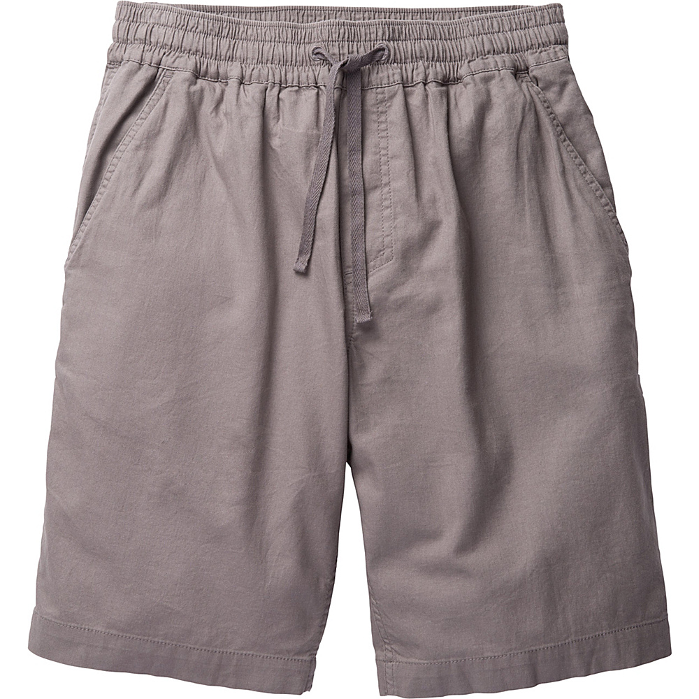 Toad & Co Levon Short 9 XXL - 9in - Smoke - Toad & Co Mens Apparel - Apparel & Footwear, Men's Apparel