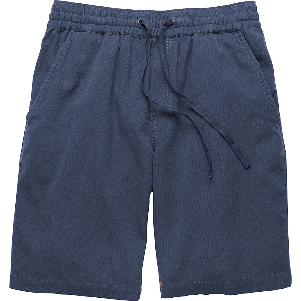 Toad & Co Levon Short 9 S - 9in - Deep Navy - Toad & Co Mens Apparel - Apparel & Footwear, Men's Apparel