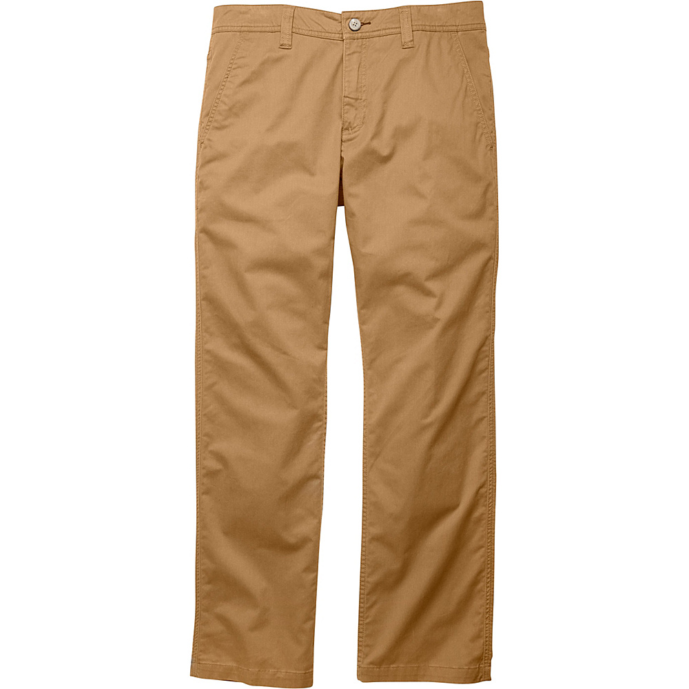 Toad & Co Mission Ridge Pant 32 - 34in - Honey Brown - Toad & Co Mens Apparel - Apparel & Footwear, Men's Apparel