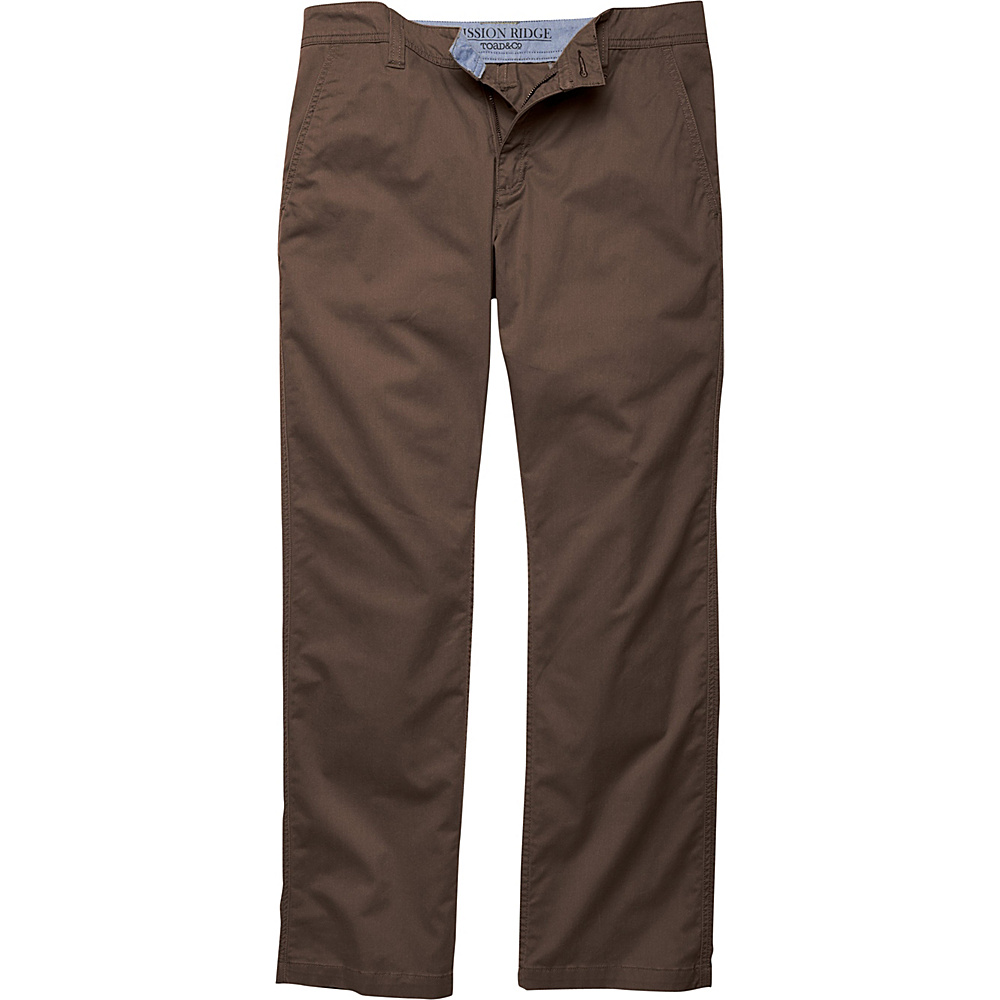 Toad & Co Mission Ridge Pant 30 - 32in - Buffalo - Toad & Co Mens Apparel - Apparel & Footwear, Men's Apparel