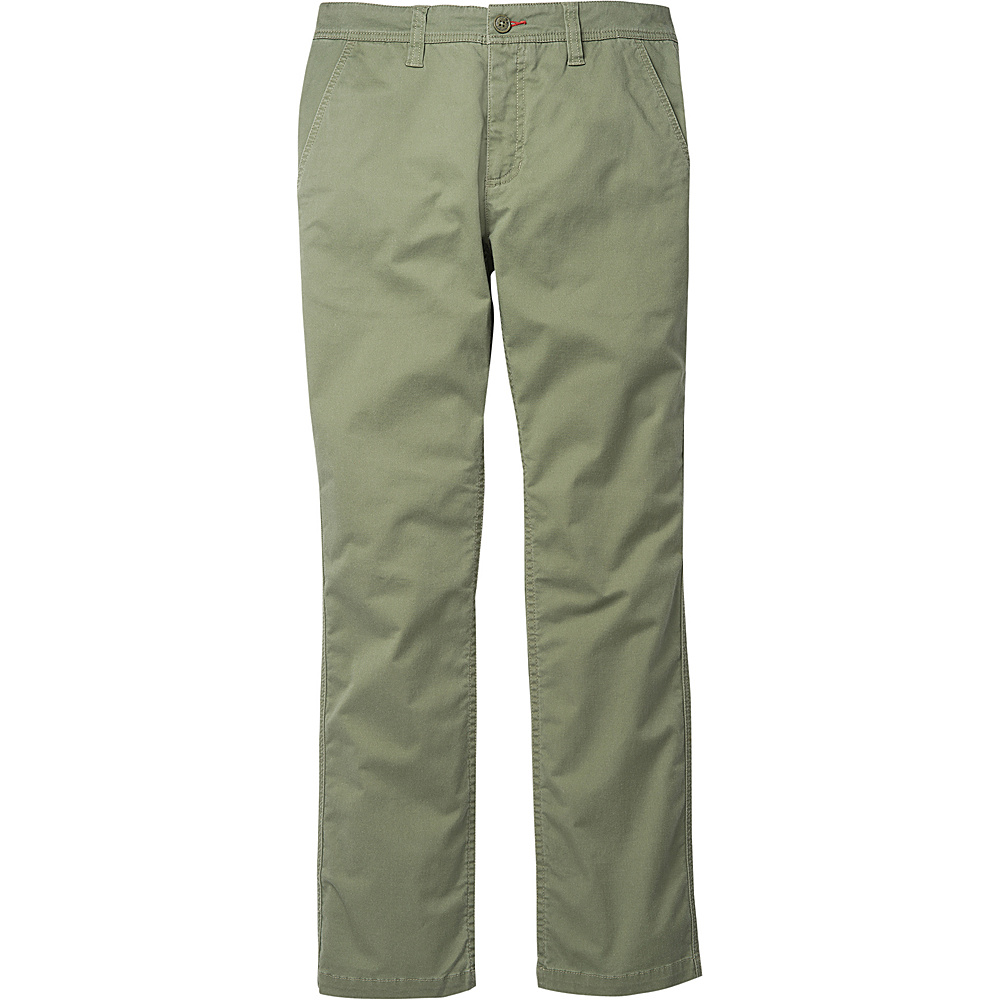 Toad & Co Mission Ridge Pant 31 - 30in - Thyme - Toad & Co Mens Apparel - Apparel & Footwear, Men's Apparel