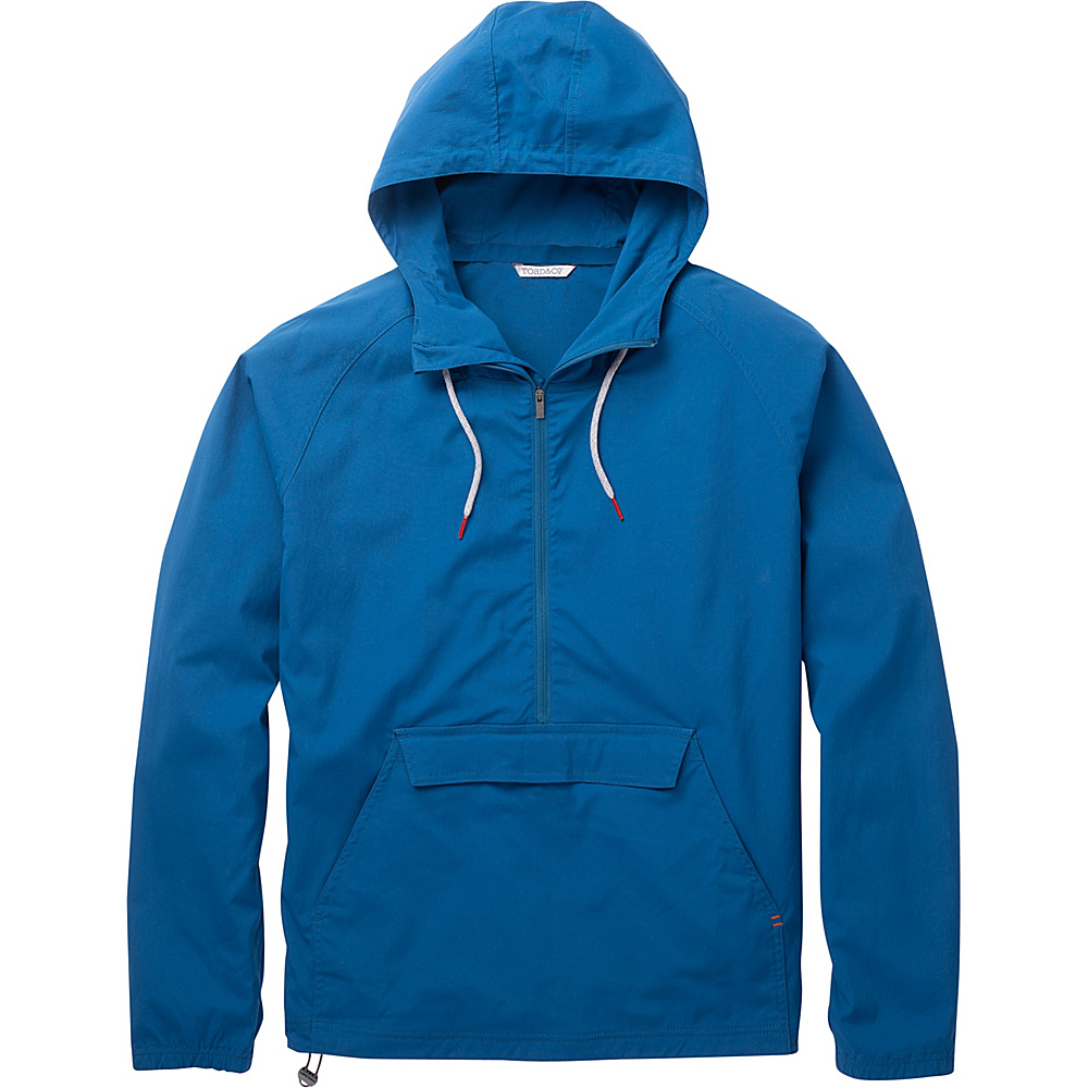 Toad & Co Trekker Anorak M - Blue Abyss - Toad & Co Mens Apparel - Apparel & Footwear, Men's Apparel