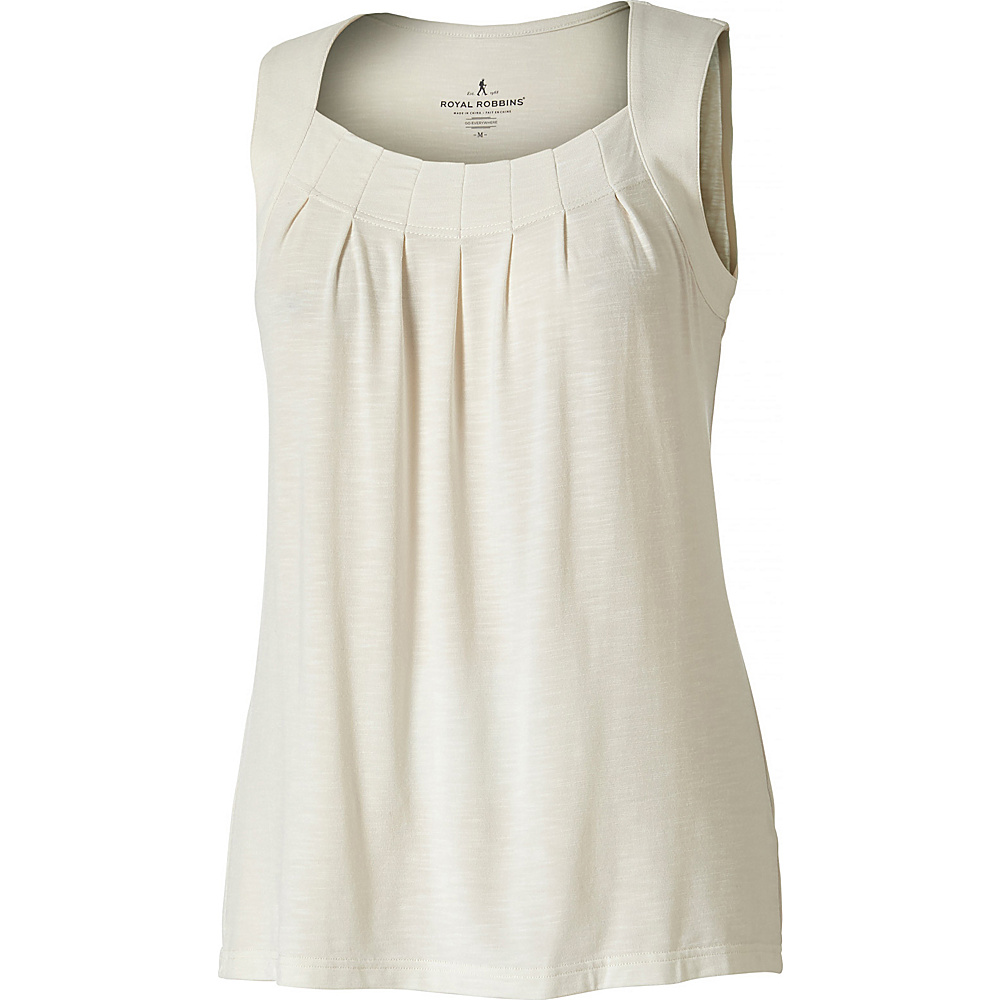 Royal Robbins Womens Noe Tank M - Creme - Royal Robbins Womens Apparel - Apparel & Footwear, Women's Apparel