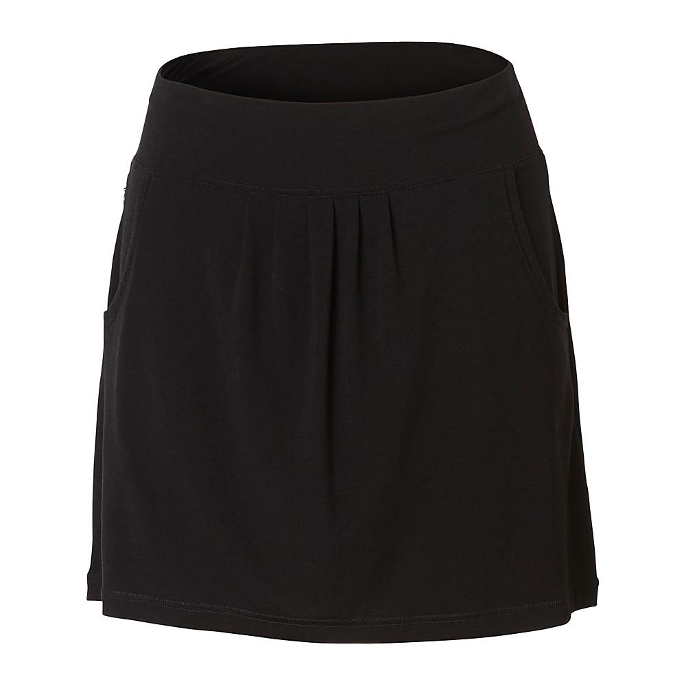 Royal Robbins Womens Essential Tencel Pocket Skirt S - Jet Black - Royal Robbins Womens Apparel - Apparel & Footwear, Women's Apparel