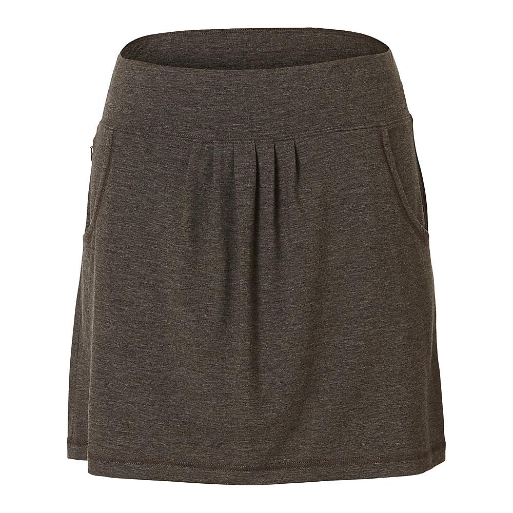 Royal Robbins Womens Essential Tencel Pocket Skirt XS - Turkish Coffee - Royal Robbins Womens Apparel - Apparel & Footwear, Women's Apparel