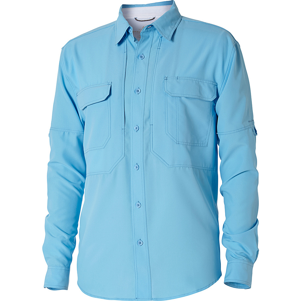 Royal Robbins Mens Expedition Chill Long Sleeve Shirt 3XL - Bluejay - Royal Robbins Mens Apparel - Apparel & Footwear, Men's Apparel