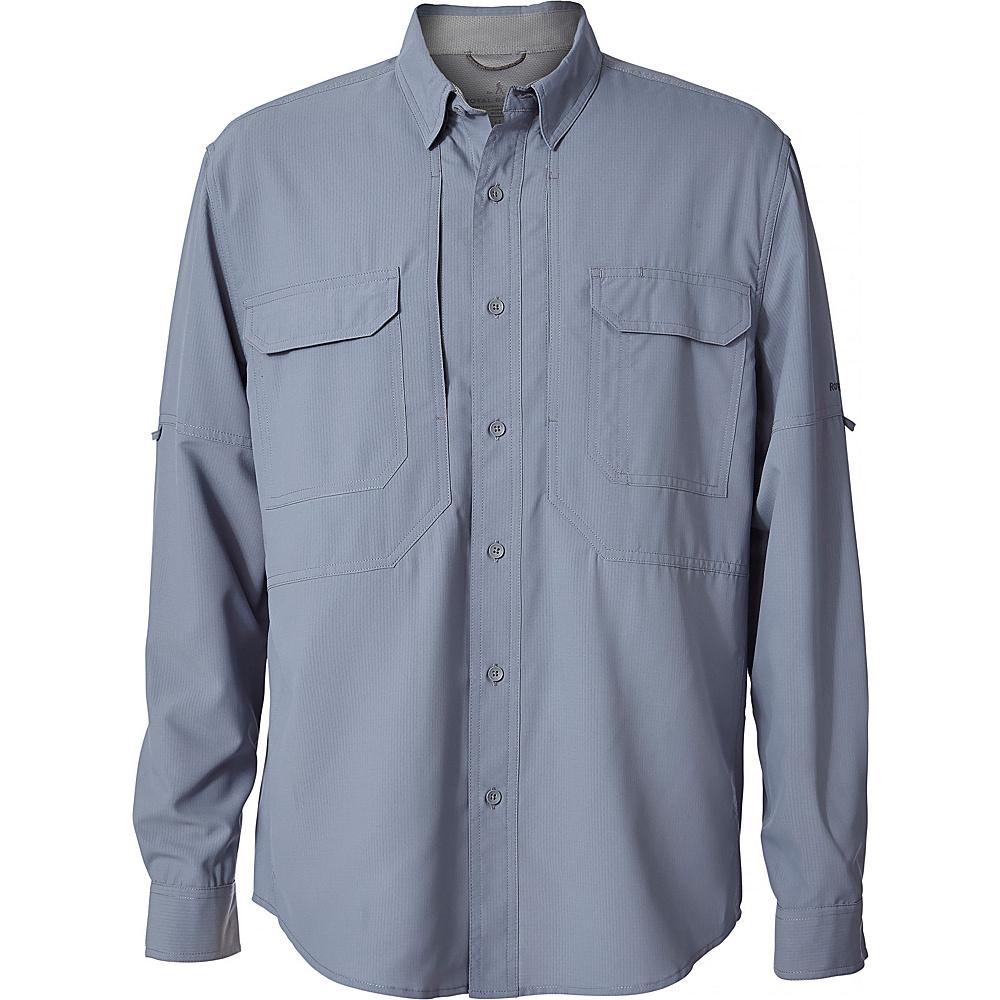Royal Robbins Mens Expedition Chill Long Sleeve Shirt 4XL - Tradewinds - Royal Robbins Mens Apparel - Apparel & Footwear, Men's Apparel