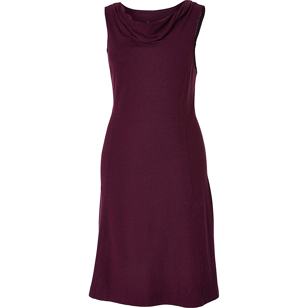 Royal Robbins Womens Flynn Dress XS - Plum Wine - Royal Robbins Womens Apparel - Apparel & Footwear, Women's Apparel