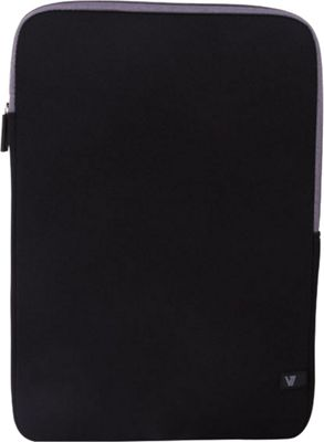 V7 13.3 inch Ultra Protective Sleeve for Notebooks Black - V7 Electronic Cases