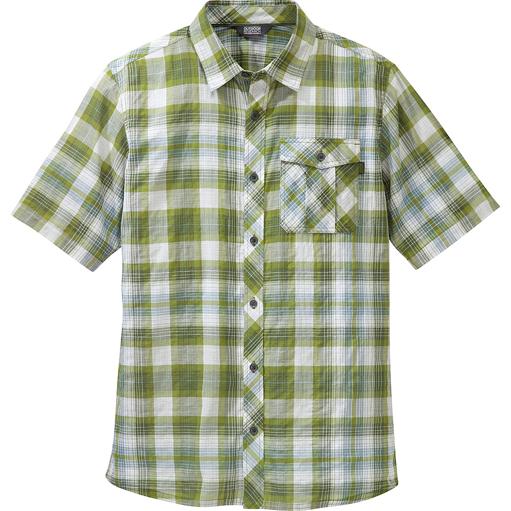 Outdoor Research Mens Jinx Shirt S - Hops - Outdoor Research Mens Apparel - Apparel & Footwear, Men's Apparel