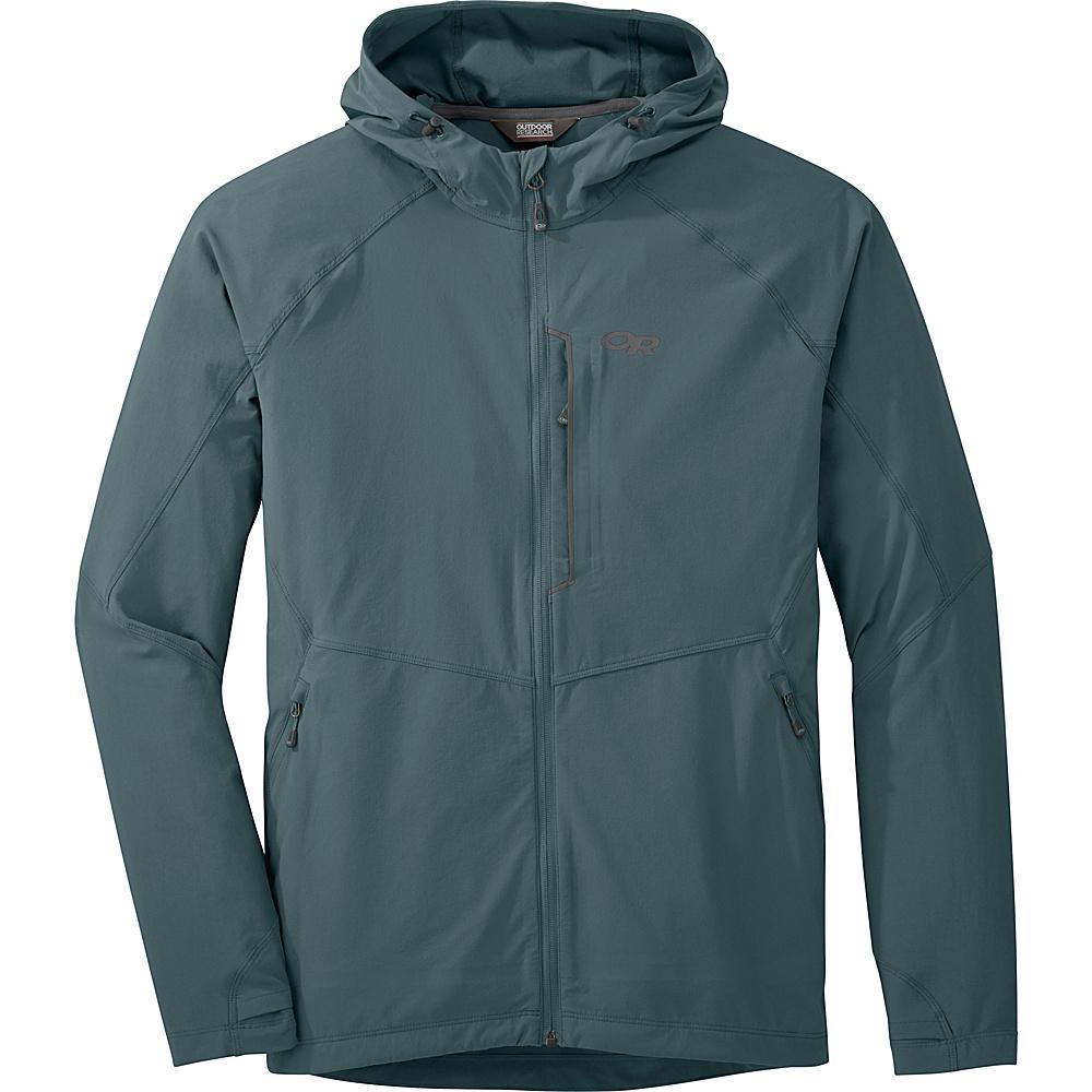 Outdoor Research Mens Ferrosi Hooded Jacket S - Shade - Outdoor Research Mens Apparel - Apparel & Footwear, Men's Apparel
