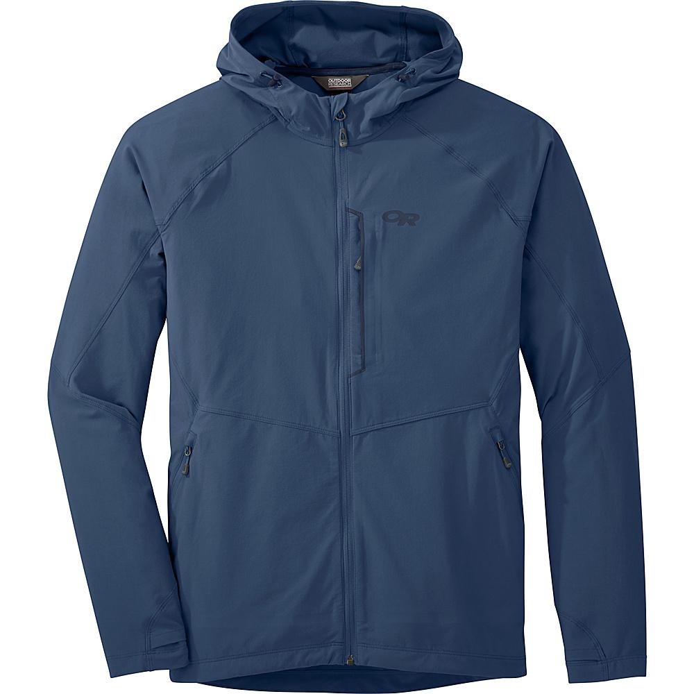 Outdoor Research Mens Ferrosi Hooded Jacket S - Dusk - Outdoor Research Mens Apparel - Apparel & Footwear, Men's Apparel