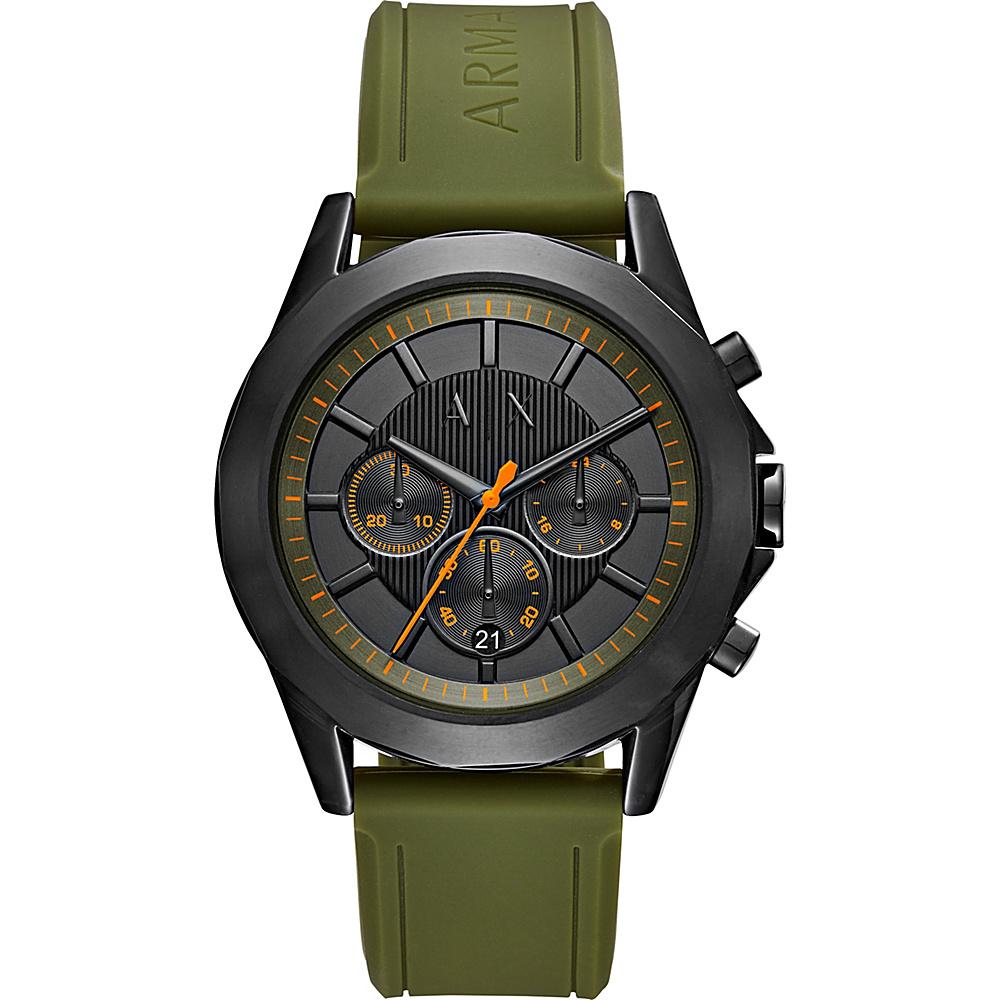 A/X Armani Exchange Dress Watch Green - A/X Armani Exchange Watches
