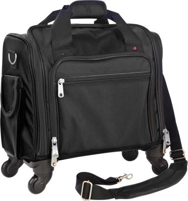 Athalon Plane Case Spinner Black - Athalon Luggage Totes and Satchels