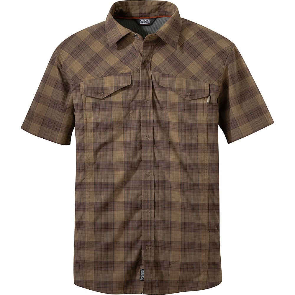 Outdoor Research Mens Pagosa Shirt XL - Coyote - Outdoor Research Mens Apparel - Apparel & Footwear, Men's Apparel
