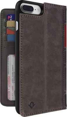 Twelve South BookBook Leather Wallet for iPhone 7 Plus Vintage Brown - Twelve South Electronic Cases