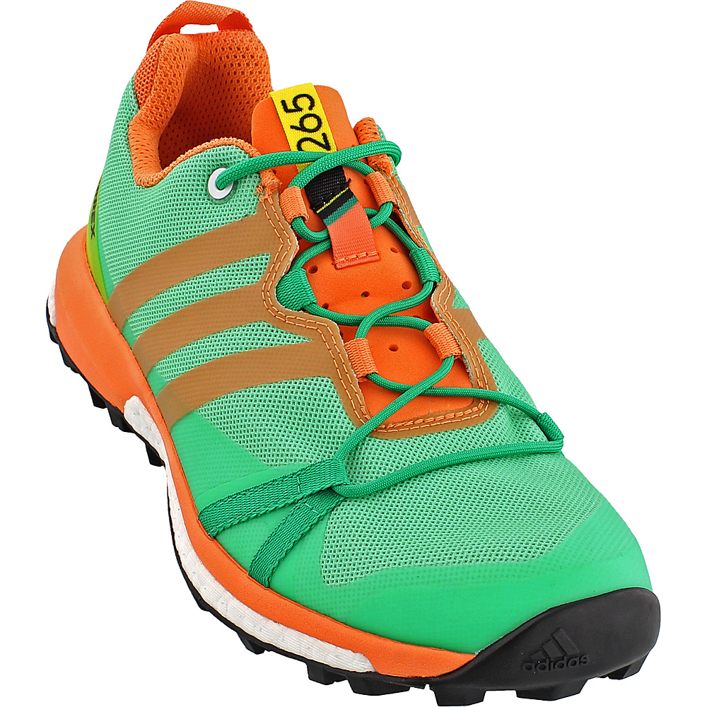 adidas outdoor Womens Terrex Agravic Shoe 8.5 - Core Green/Black/Easy Orange - adidas outdoor Womens Footwear - Apparel & Footwear, Women's Footwear